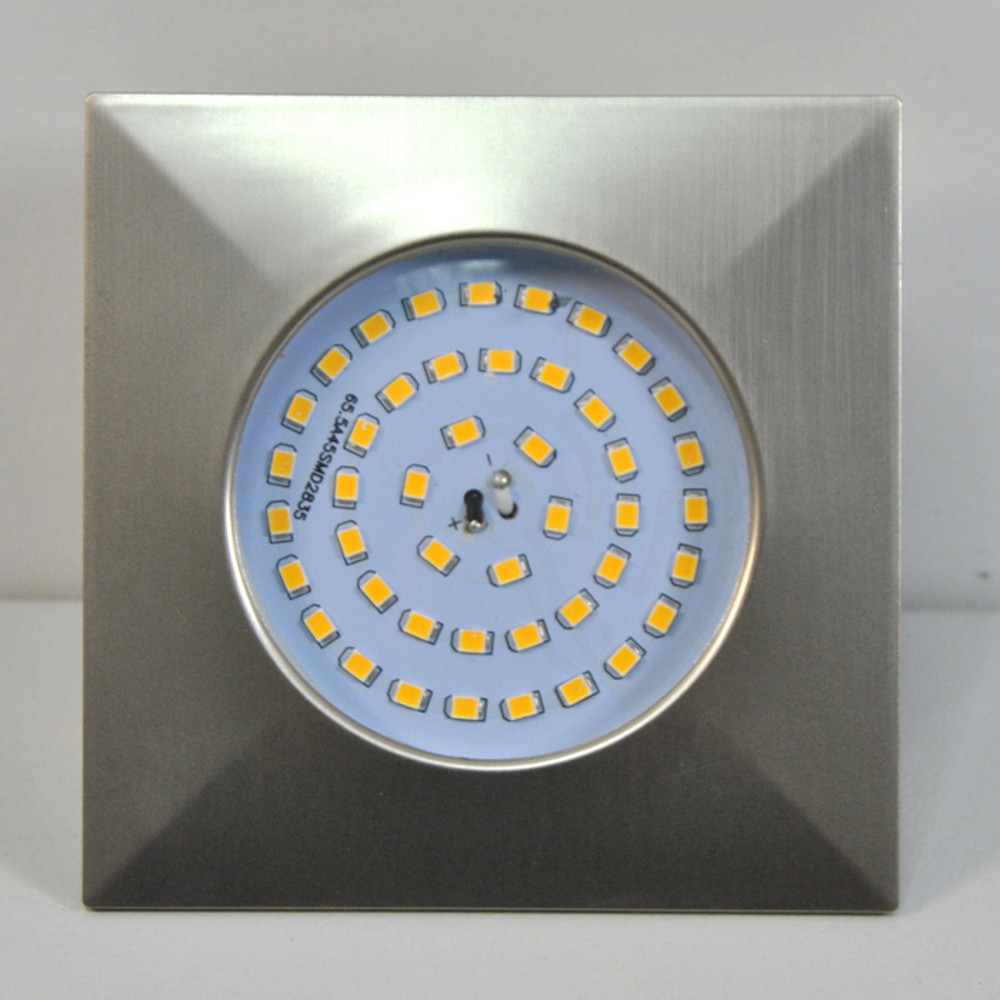 LED Einbauleuchte Darlux 61022535 10,5W matt-nickel EinbauspotIP44