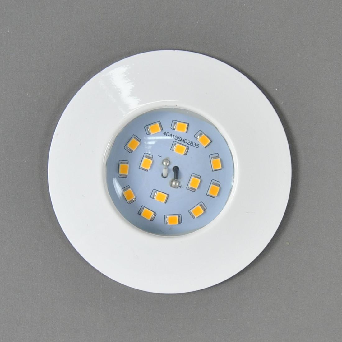 LED Einbauleuchte Darlux 61168519 Einbauspot 5W weiß IP44