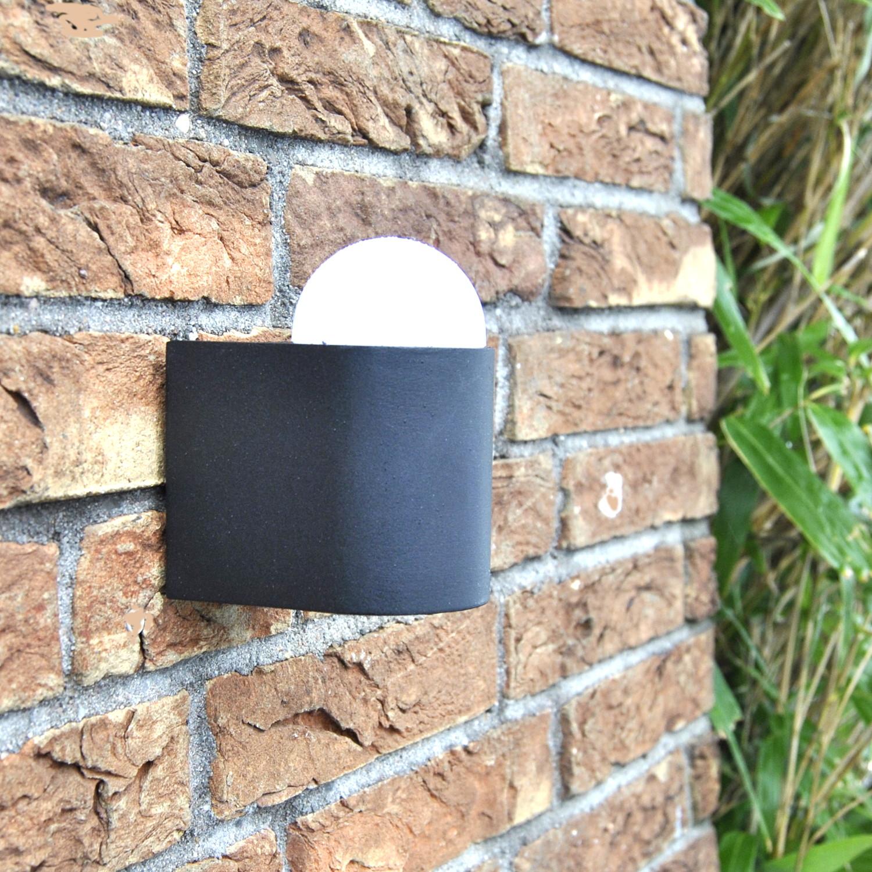 LED Außenlampe, Wandlampe, Darlux 61351342 1x4.5W  IP44 Wegeleuchte