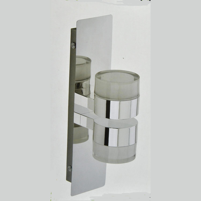 Wandlampe, LED Badezimmer Lampe, Darlux 62079026, IP44, Spiegellampe