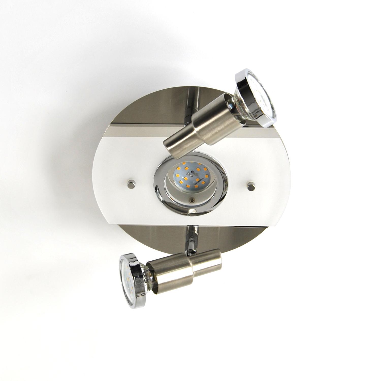 Deckenlampe, LED Deckenleuchte, Darlux  62180629, IP20, Gäste WC, Spot