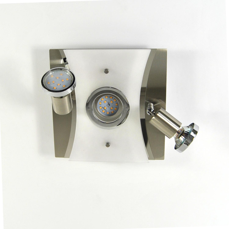 Deckenlampe, LED Deckenleuchte, Darlux  62183210, IP20, Gäste WC, Spot