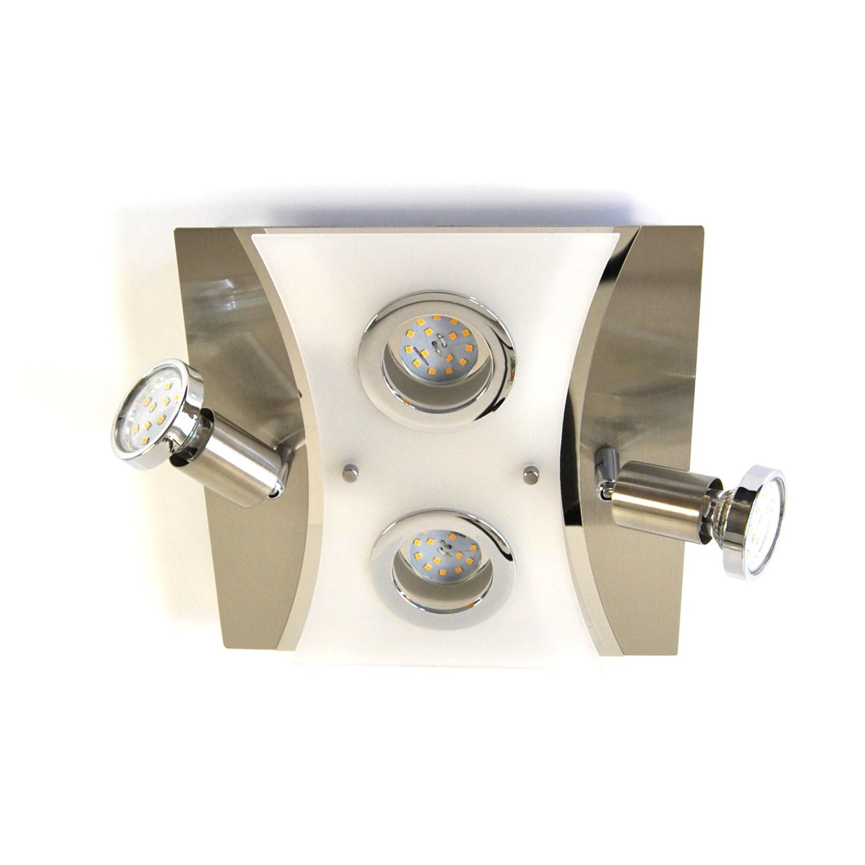 Deckenlampe, LED Deckenleuchte, Darlux  62183940, IP20, Gäste WC, Spot