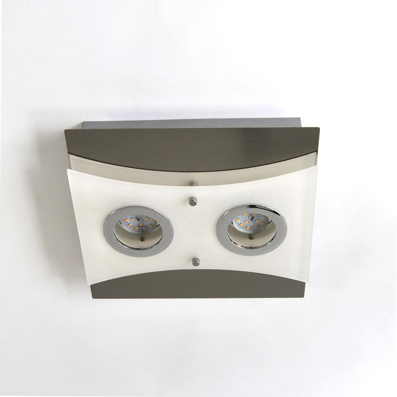 Deckenlampe, LED Deckenleuchte, Darlux 62189379, IP20, Gäste WC, Spot