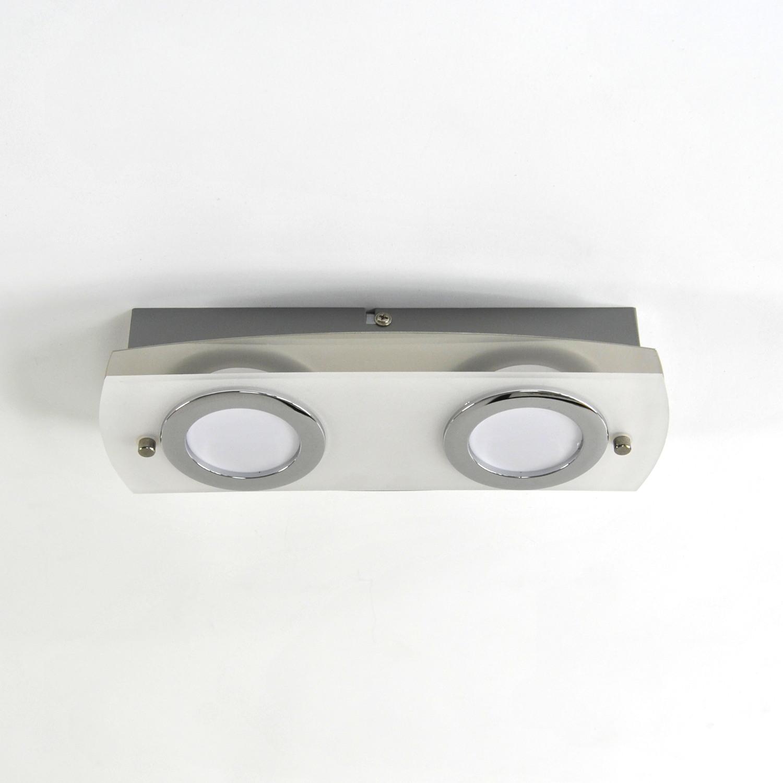 Deckenlampe, LED Deckenleuchte, Darlux 62190166 , IP20, Gäste WC, Spot
