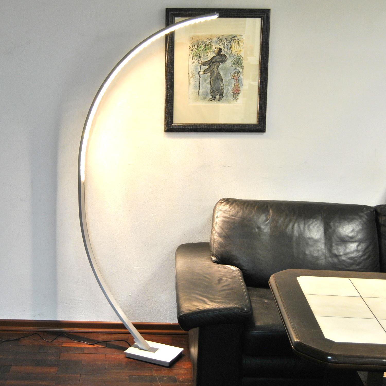 Büro & Schreibwaren Beleuchtung Geschickt Led Stehleuchte Bogenleuchte Lese Leuchte Bogenlampe Stehlampe Dimmbar 165cm