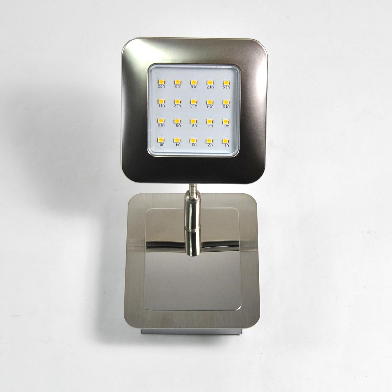 chrome verre salle de bain miroir lumineux lampe murale. Black Bedroom Furniture Sets. Home Design Ideas