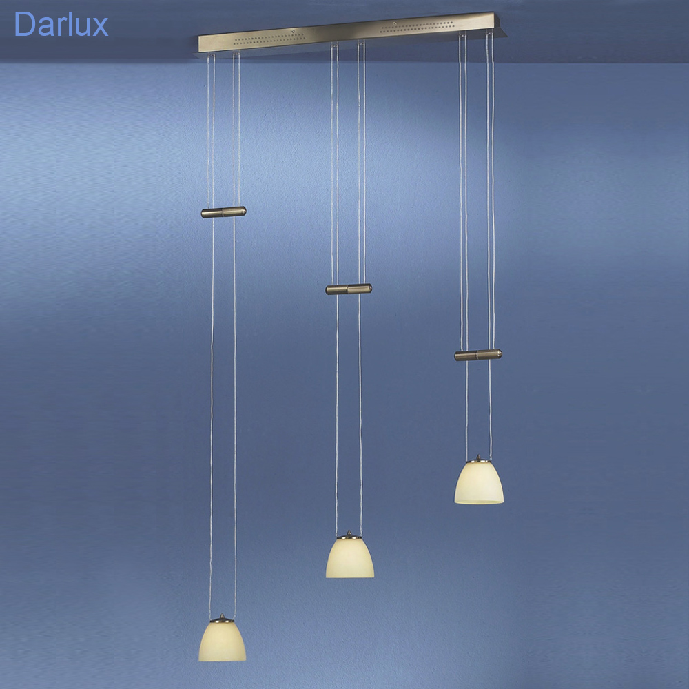 pendelleuchte h henverstellbar fischer leuchten 11403 altmessing. Black Bedroom Furniture Sets. Home Design Ideas