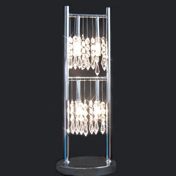Tischleuchte Fischer Leuchten 12094 Kristall