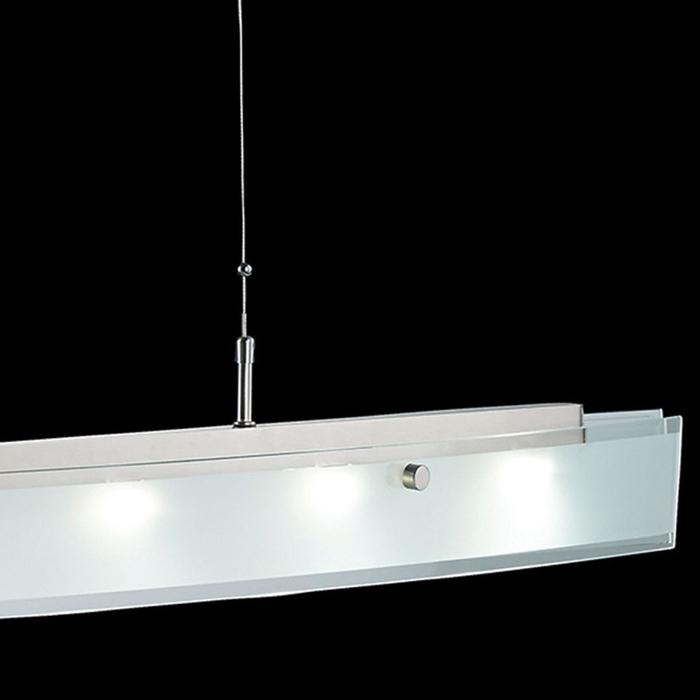 led pendellampe 13445 fischer shine h henverstellbar dimmbar esszimmer lampe ebay. Black Bedroom Furniture Sets. Home Design Ideas