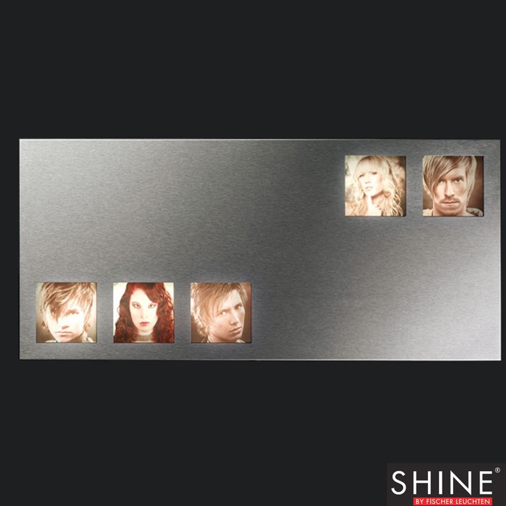 Beleuchteter Fotorahmen 73x33cm Fischer Leuchten 14832 SHINE