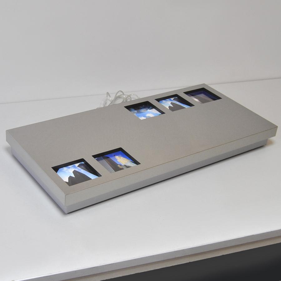 fischer leuchten beleuchteter fotorahmen 73x33cm fischer leuchten 14832 shine darlux. Black Bedroom Furniture Sets. Home Design Ideas