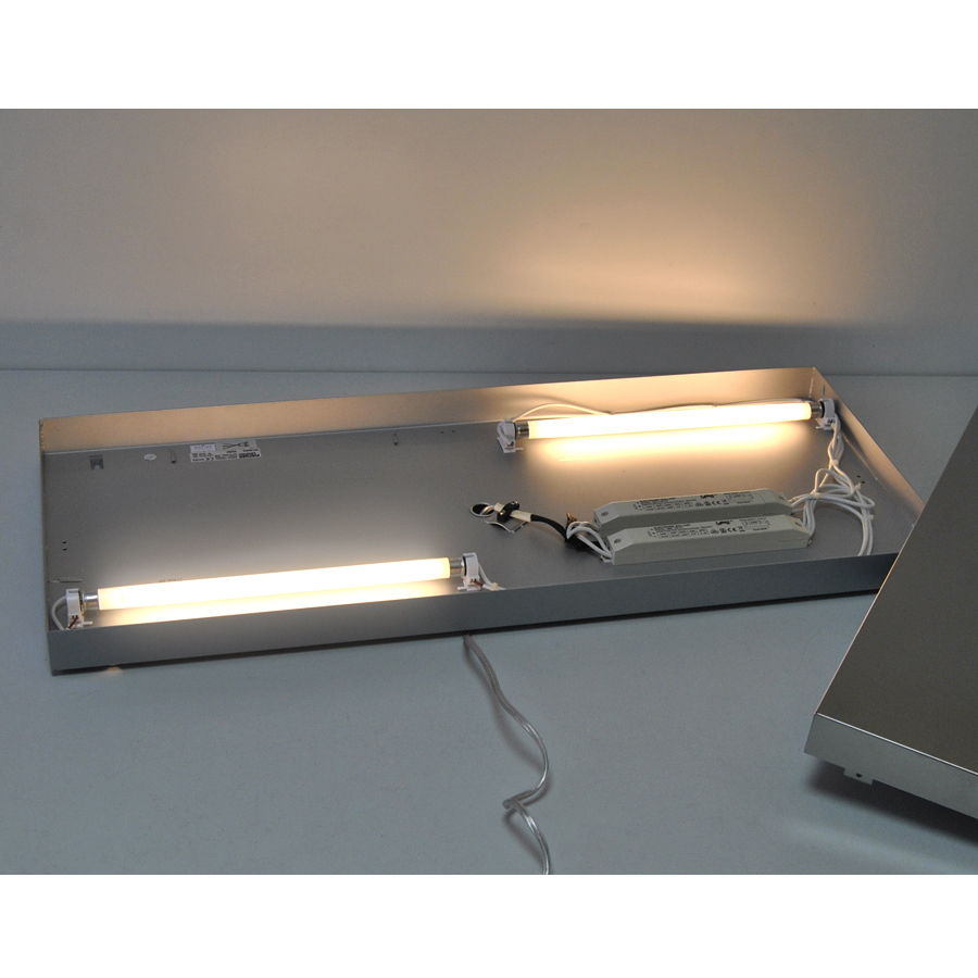 beleuchteter bilderrahmen fotorahmen fotogalerie fischer leuchten 14832 shine ebay. Black Bedroom Furniture Sets. Home Design Ideas