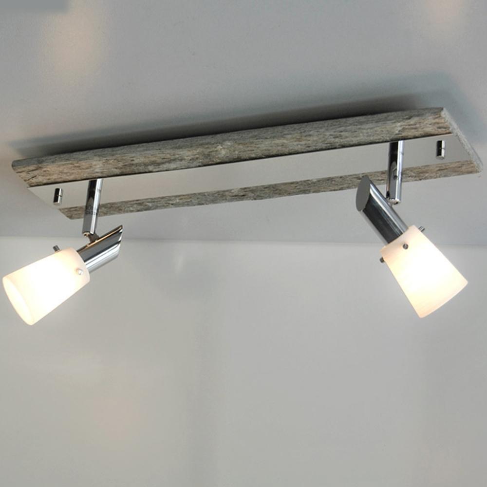Lampada da Parete Fischer Leuchten Nichel Antico 13307 con 2x33W ...