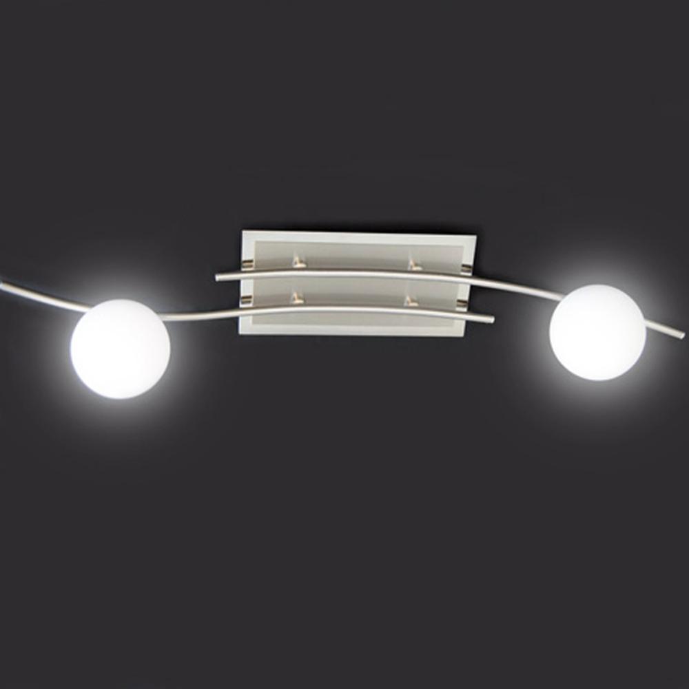 Led deckenleuchte 10w deckenlampe glaskugel fischer for Led deckenleuchte deckenlampe