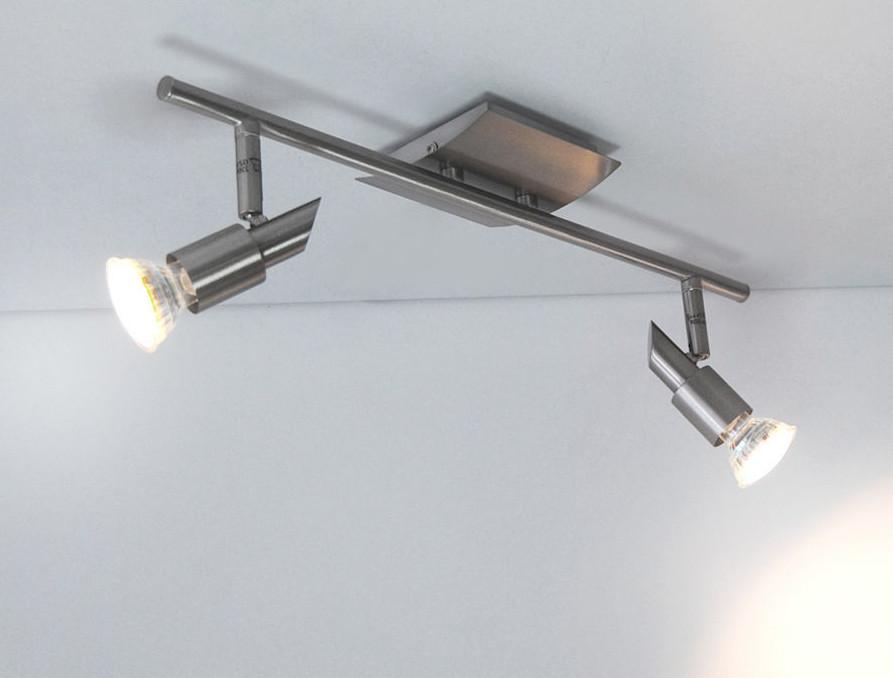 LED Deckenleuchte Wandleuchte 2102.82 FLI mit 2x 3W GU10 LED