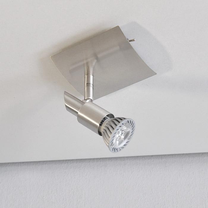 Led wandleuchte deckenleuchte power led strahler for Deckenlampe led strahler