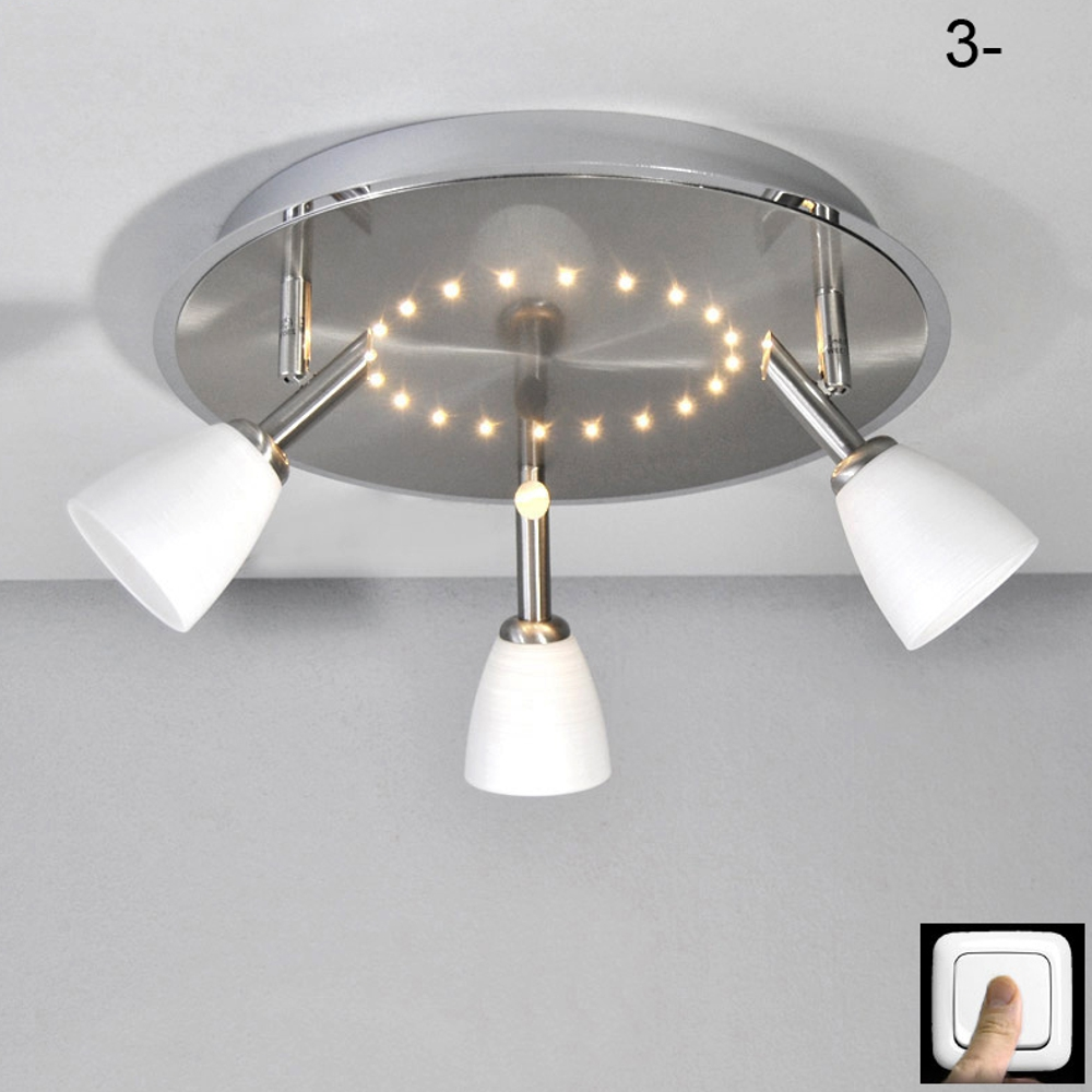 Plafoniera led cielo stellato Plafoniera 35cm 20x LED`s Plafoniere NUOVO  eBay