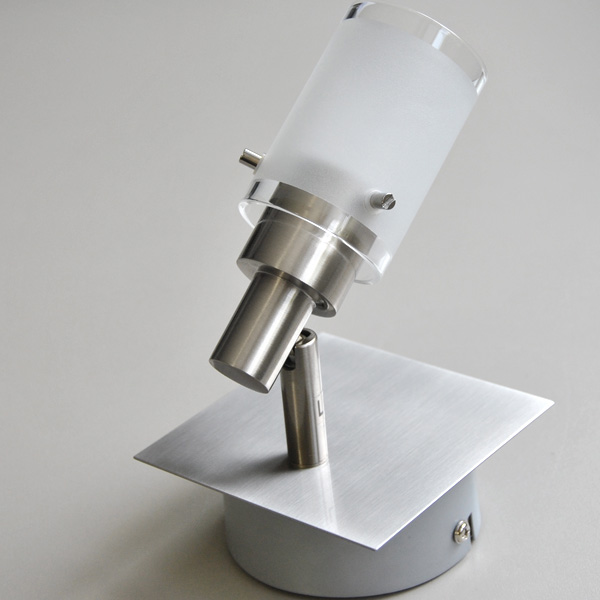 wandlampe led sparlampe 4w wandleuchte deckenlampe spot schalter fli fischer. Black Bedroom Furniture Sets. Home Design Ideas