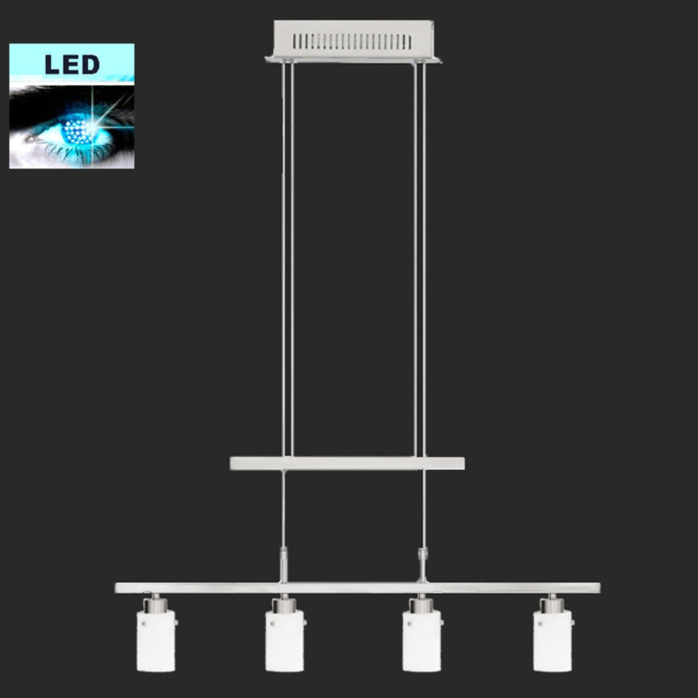 Hanging light adjustable fischer leuchten train suspension for Suspension led exterieur