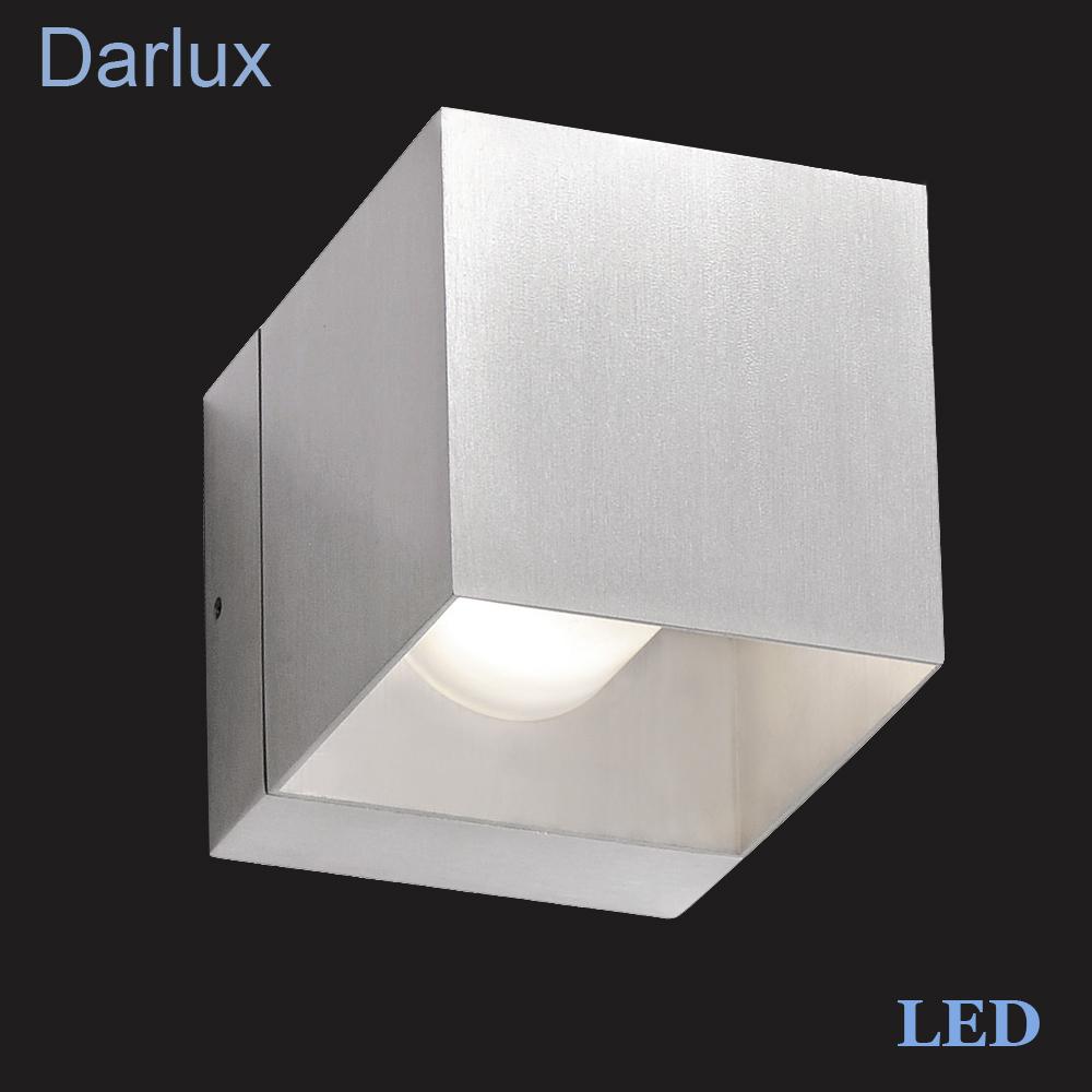 Lampada led da parete 3w fli fischer design luci alluminio bianco 9x12cm nuovo - Luci da parete led ...