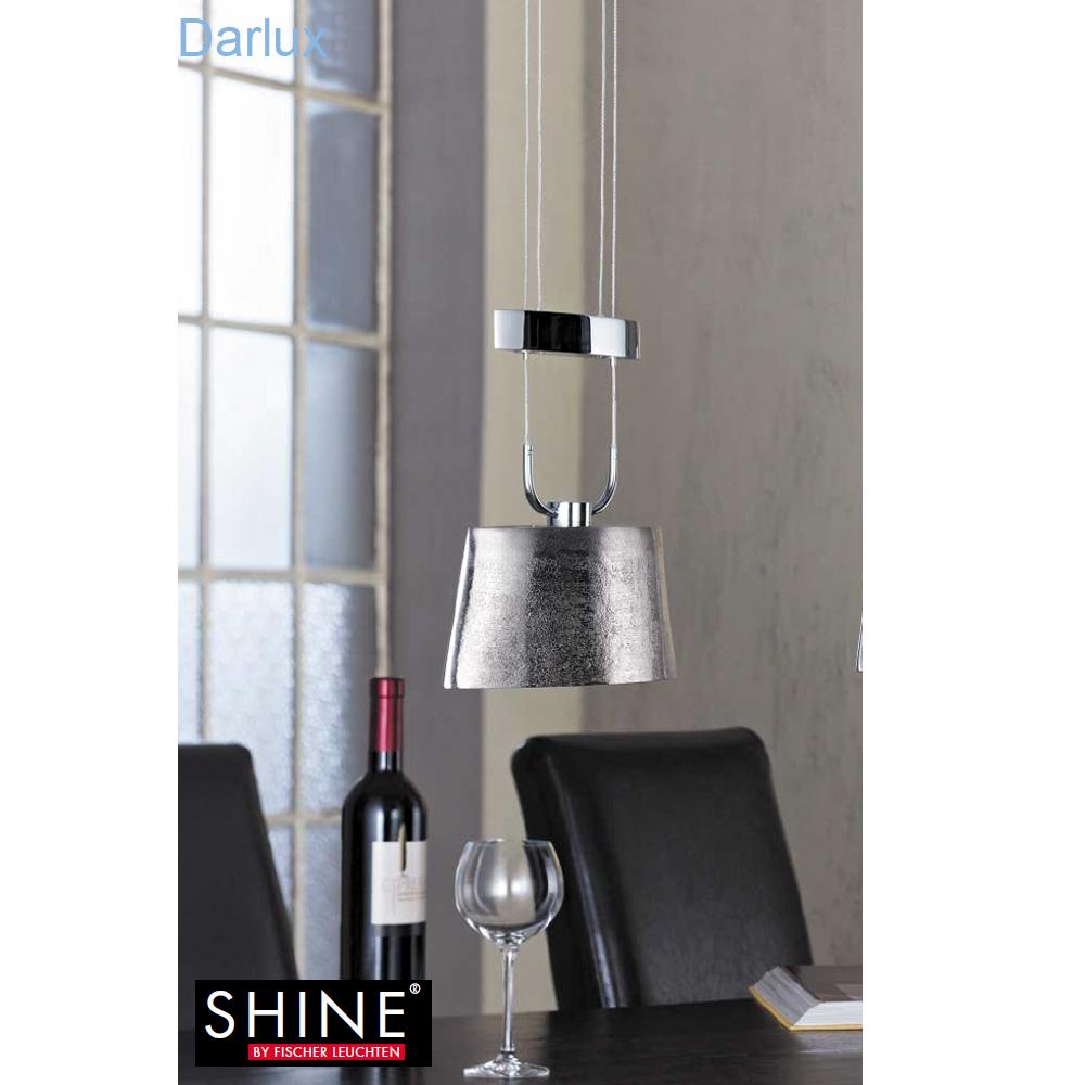 fischer leuchten pendelleuchte h heneinstellbar 44841 fischer leuchten shine darlux. Black Bedroom Furniture Sets. Home Design Ideas