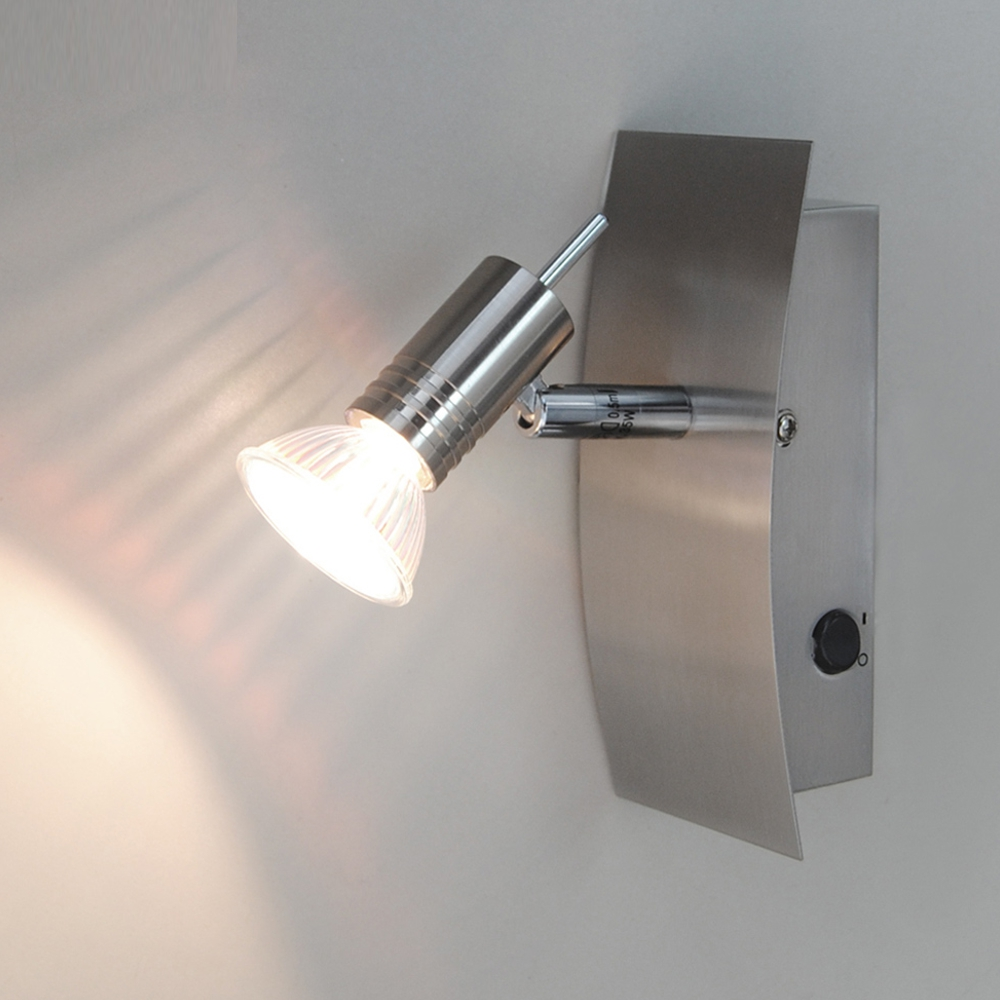 wandleuchte spot wandlampe leselampe schalter fischer. Black Bedroom Furniture Sets. Home Design Ideas