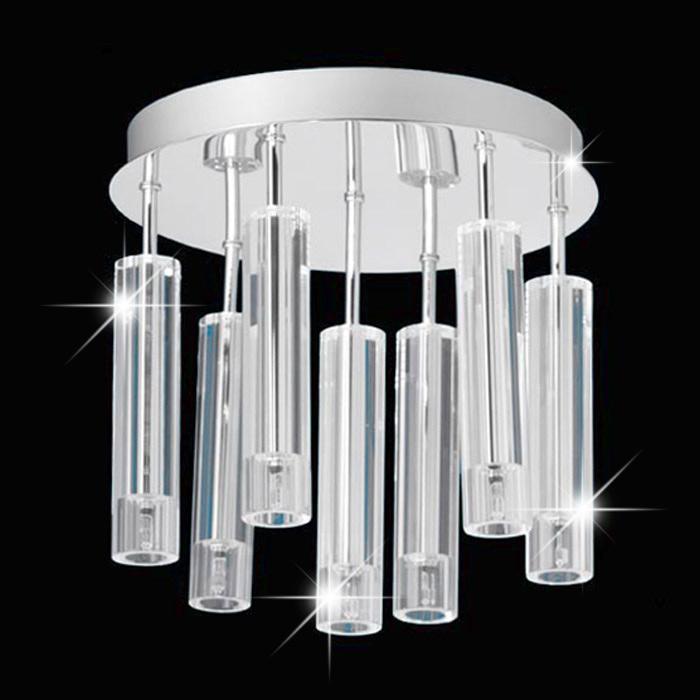 Deckenleuchte LIS 15447011 Cristal-Tube 7x20W Chrom