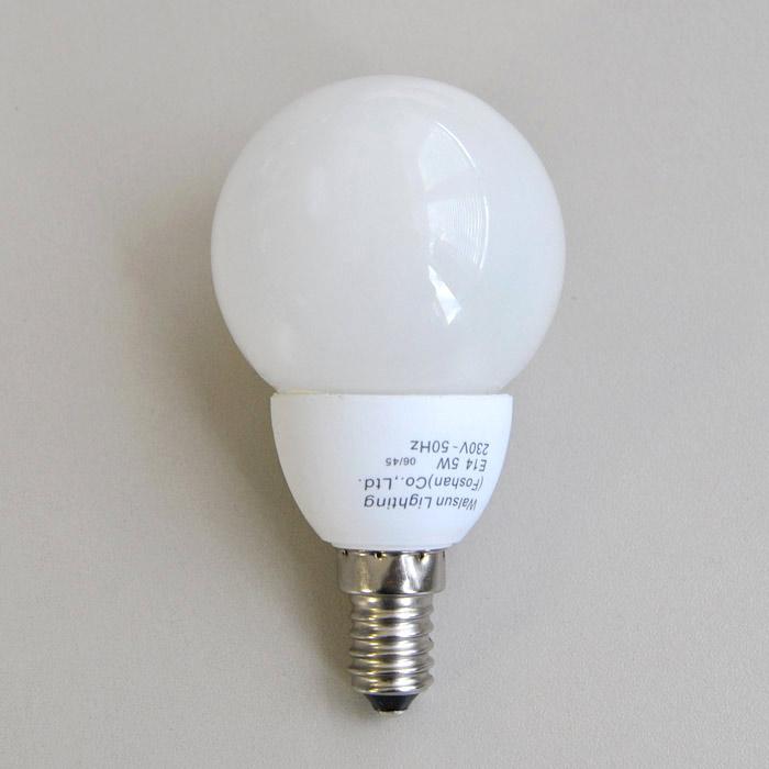 Energiesparlampe 5W E14 Birnenform 2700K