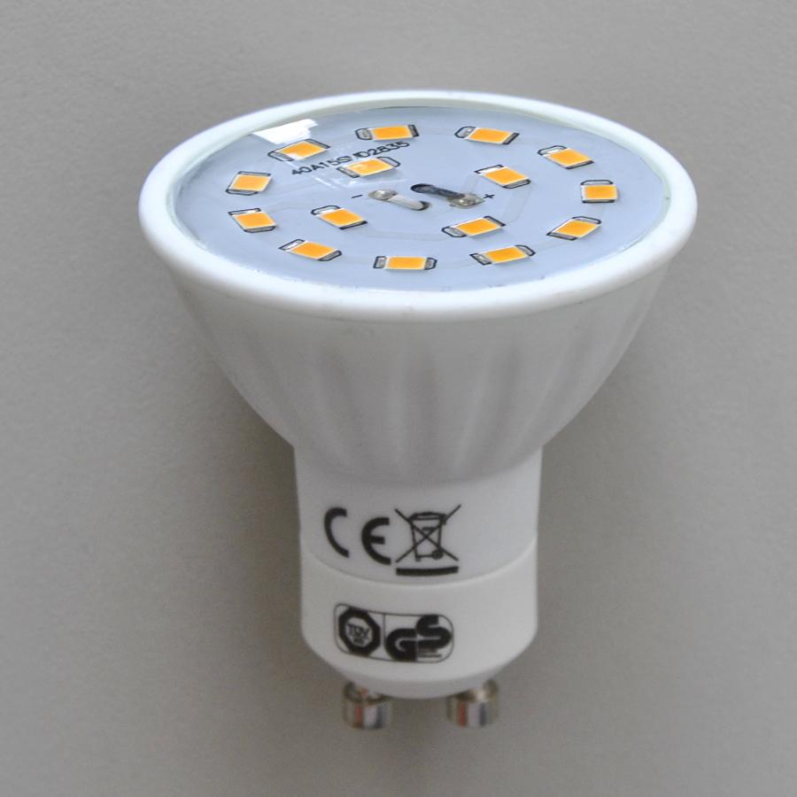 LED Energiesparlampe GU10 5W 400Lm 3000K A+ Briloner Leuchtmittel