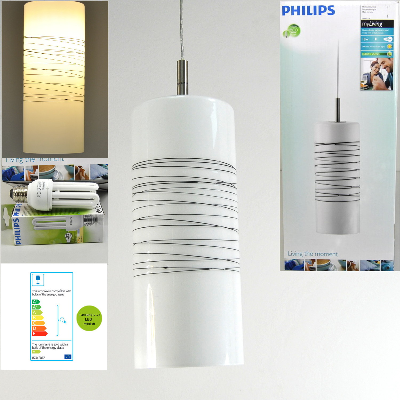 Pendelleuchte 368801716 Philips E27, LED möglich, 18W Hängelampe