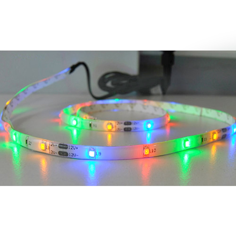 led lichtband color 1m briloner band ip44 au en strips streifen leuchtband rgb ebay. Black Bedroom Furniture Sets. Home Design Ideas