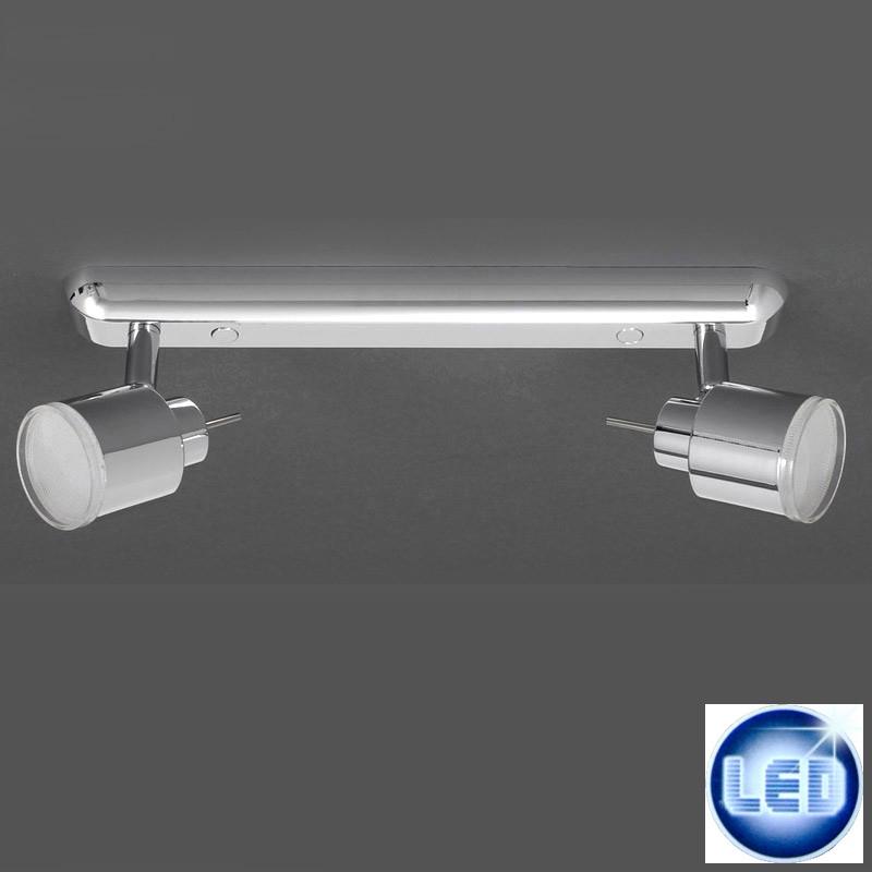 LED Deckenleuchte Wandleuchte 2706/028 Briloner Prisma Leuchten
