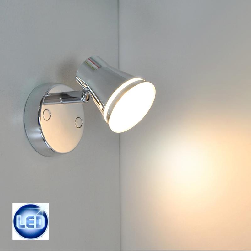 LED Wandleuchte Deckenleuchte Spot 2765-018 Briloner Prisma Chrom