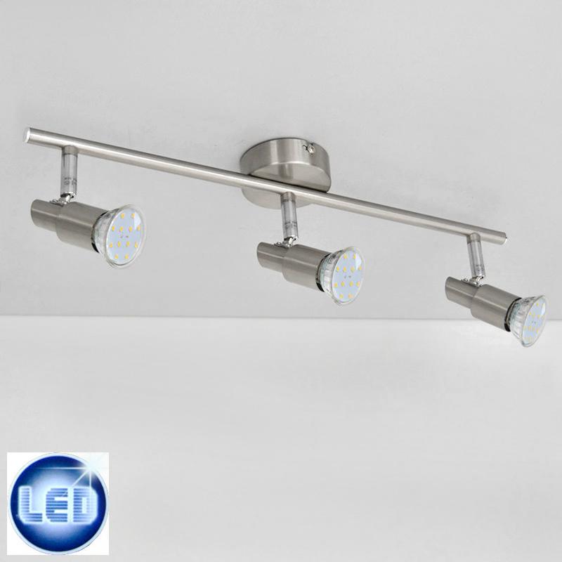 LED Deckenleuchte 39533247 Prisma Leuchten mit 3x 3W GU10 LED