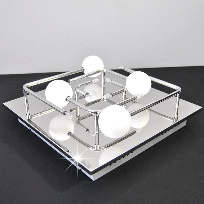 deckenleuchte briloner prisma leuchten mit glaskugel. Black Bedroom Furniture Sets. Home Design Ideas