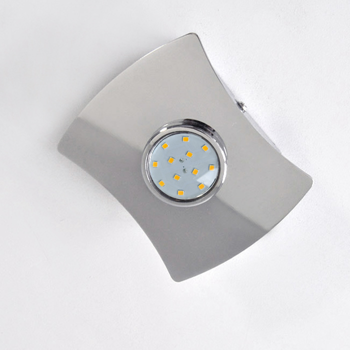 led deckenleuchte 3402 018 prisma leuchten mit 3w gu10 led. Black Bedroom Furniture Sets. Home Design Ideas