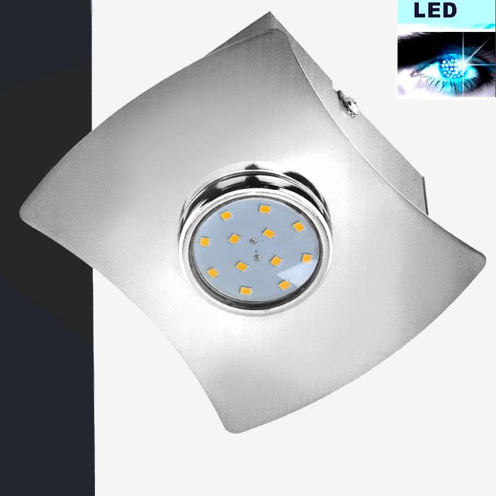 LED Deckenleuchte 3402-018 Prisma Leuchten mit 3W GU10 LED