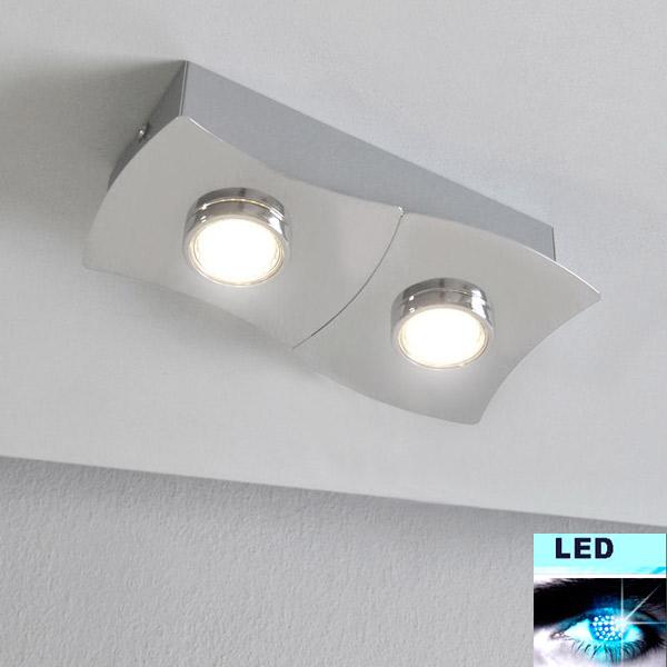 LED Deckenleuchte / Wandleuchte 3302/028 Prisma Leuchten 4,6W