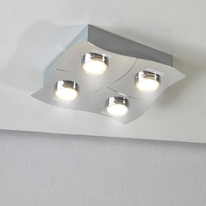 LED Deckenleuchte 42108878 Darlux Deckenlampe mit 4x 3 Watt