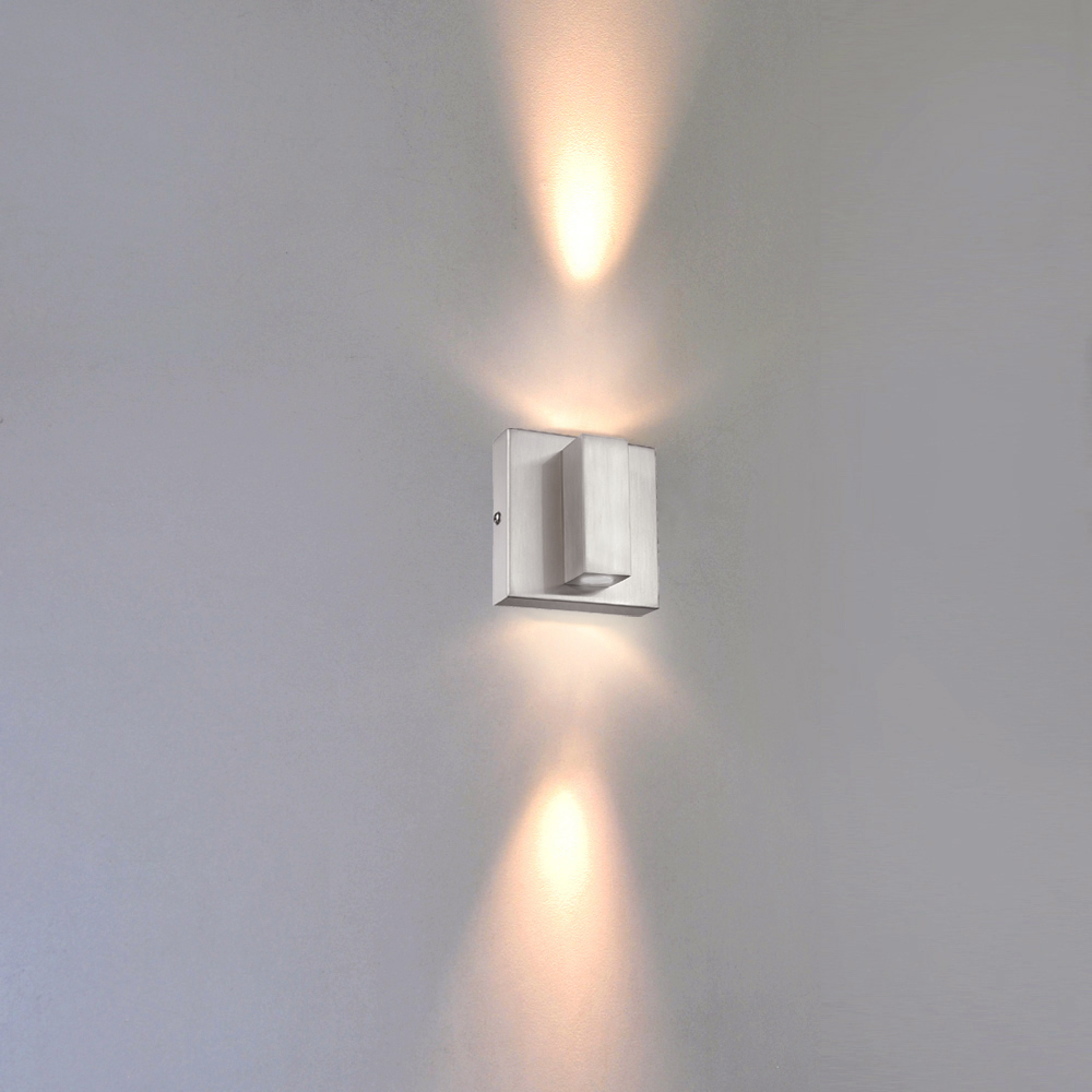 Led Wandleuchte 580515 Sorpetaler Leuchten Up Down Bad Innen Außen