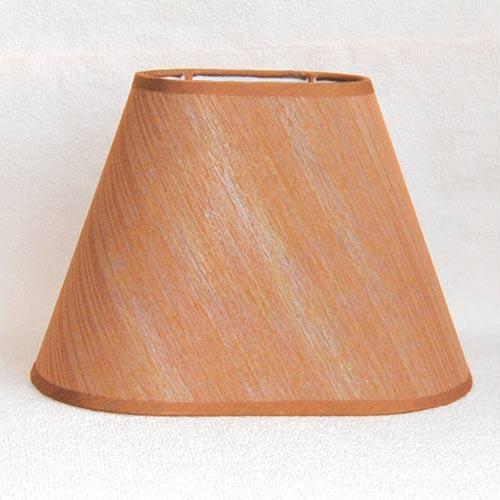 Lampenschirm Sorpetaler Leuchten SO 20.15 Oval Marrone 15cm