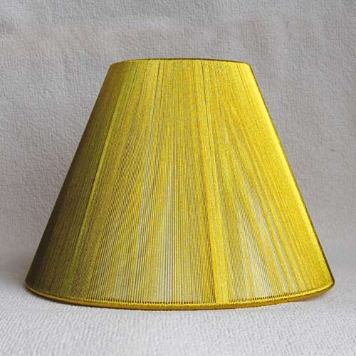 Sorpetaler SRS2032 Lampenschirm rund gold 14cm