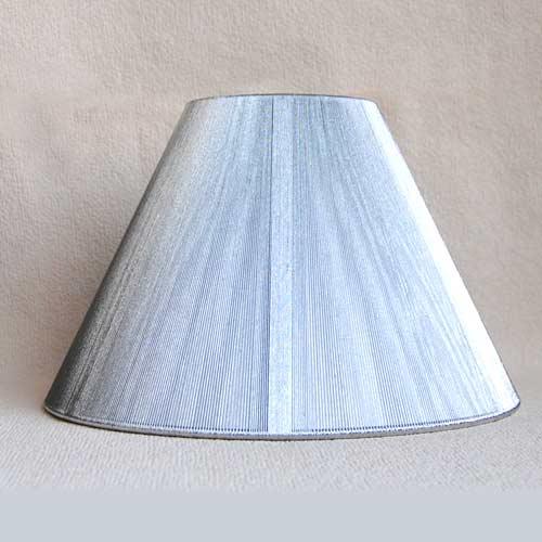Sorpetaler SRS3033 Lampenschirm rund Silber 20cm