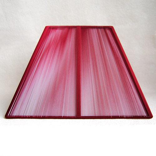 Sorpetaler SSS3004 Lampenschirm Quadrat rot 18,5cm