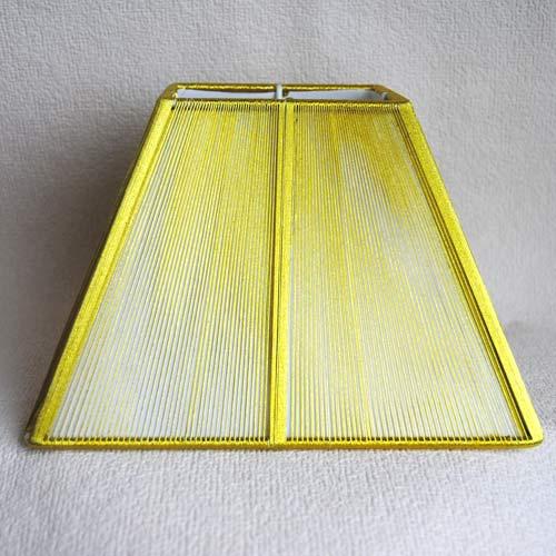 Sorpetaler SSS3032 Lampenschirm Quadrat gold 18,5cm