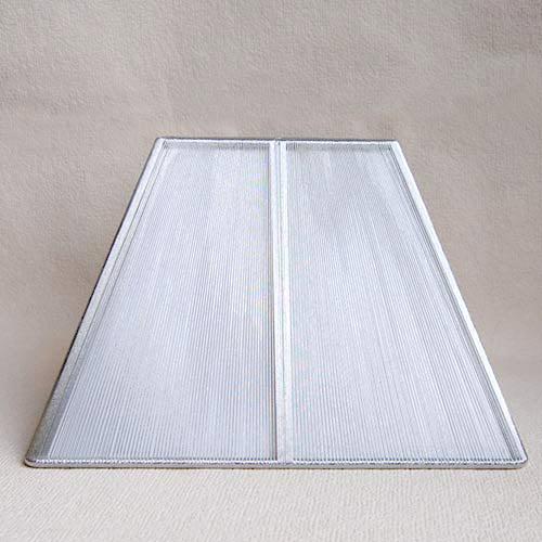 Sorpetaler SSS3033 Lampenschirm Quadrat Silber 18,5cm