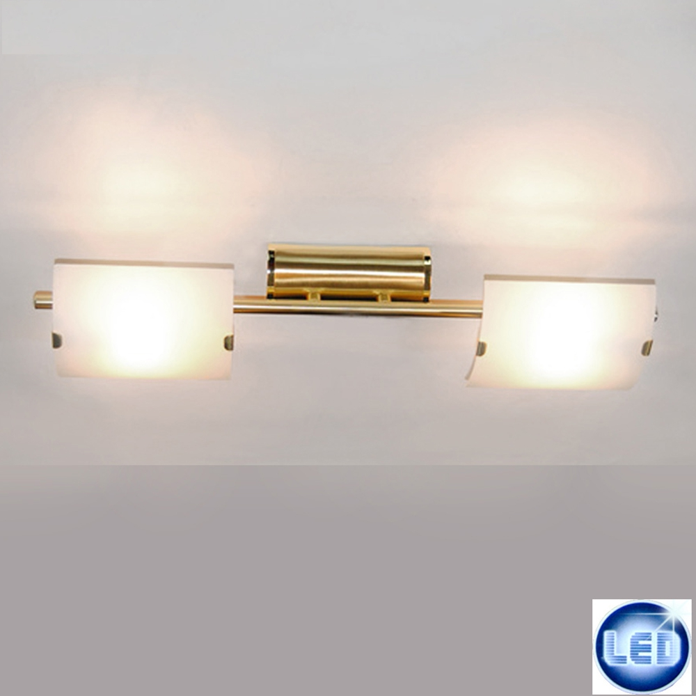 LED Deckenleuchte Eglo 55431410 Messing mit 2x 5W G9 LED