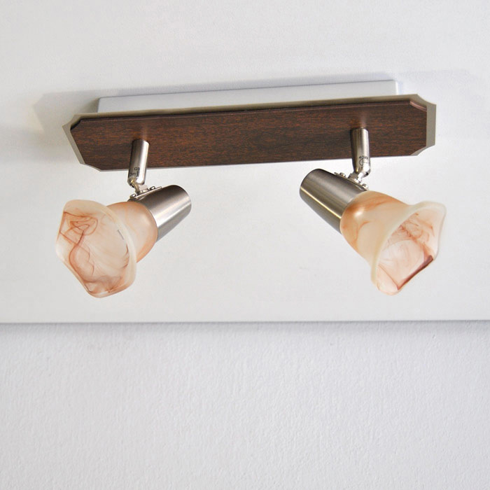 LED Deckenleuchte Wandleuchte Eglo 85007 2 x 5 Watt Deckenlampe MZ