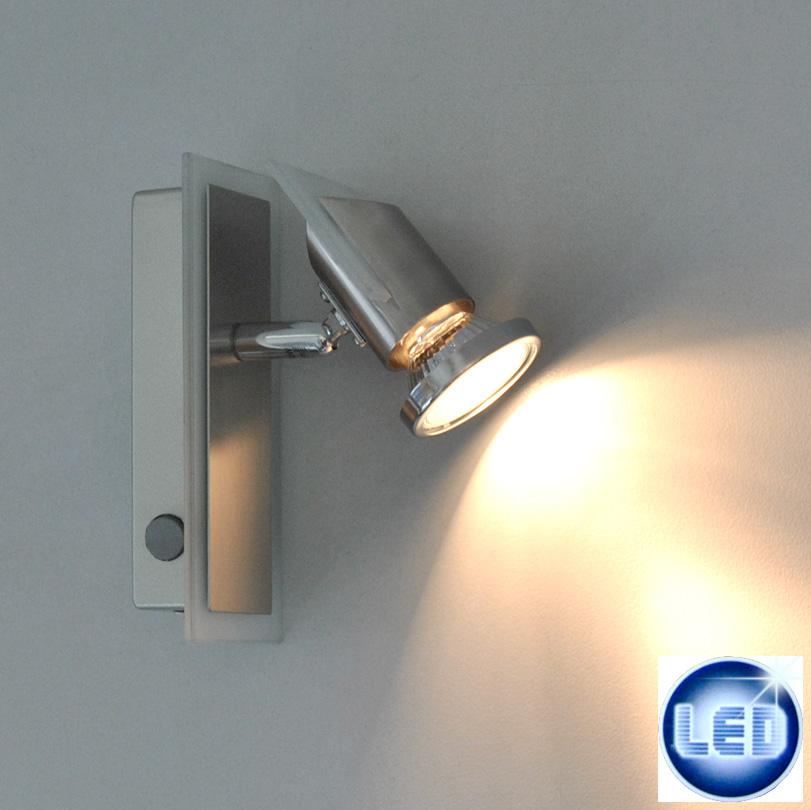 LED Wandleuchte / Deckenleuchte Eglo 49607359 mit 3W GU10 LED